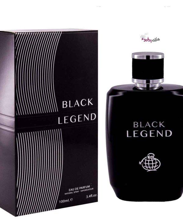عطر ادکلن مردانه فراگرنس ورد بلک لجند BLACK LEGEND